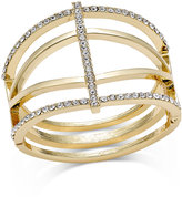 INC International Concepts Pavé Open Cuff Bracelet, Created for Macy's