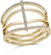 INC International Concepts Pavé Open Cuff Bracelet, Only at Macy's