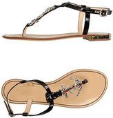 Philipp Plein Toe post sandal