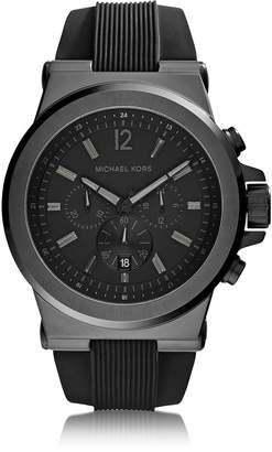 Michael Kors Dylan Black Stainless Steel Oversized Men's Chrono Watch