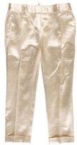 DSQUARED2 Silk Metallic Pants