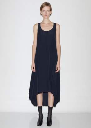 Jil Sander Masie Af - Textured Fluid Viscose and Linen Dress