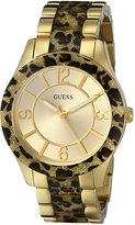 GUESS GUESS? Women's U0014L2 Stainless-Steel Analog Quartz Watch with Dial