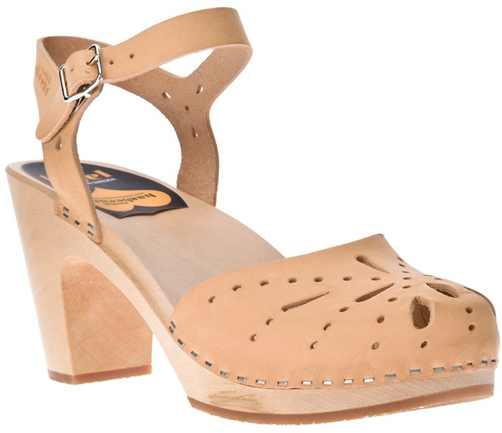 Swedish Hasbeens ankle strap sandal