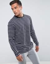 Bellfield Long Sleeve T-Shirt In Stripe