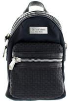 Bernie Mev. Women's BM38 Cross Body Mini Backpack - Black Nylon/Black Purses