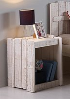Tree House Nightstand in Rustic Sand Finish