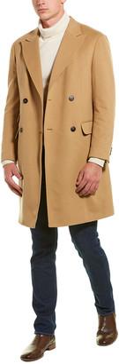 Ermenegildo Zegna Moscava Wool Overcoat
