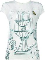 Dolce & Gabbana Victorian Garden print top