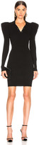 A.L.C. Amina Dress in Black   FWRD