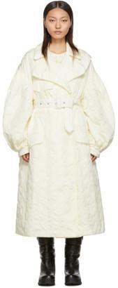 MONCLER GENIUS 4 Moncler Simone Rocha Off-White Down Dinah Coat