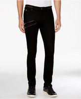 GUESS Men's Zipper Skinny Jeans