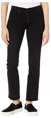 Lucky Brand Ava Straight in Lucky Black (Lucky Black) Women's Jeans