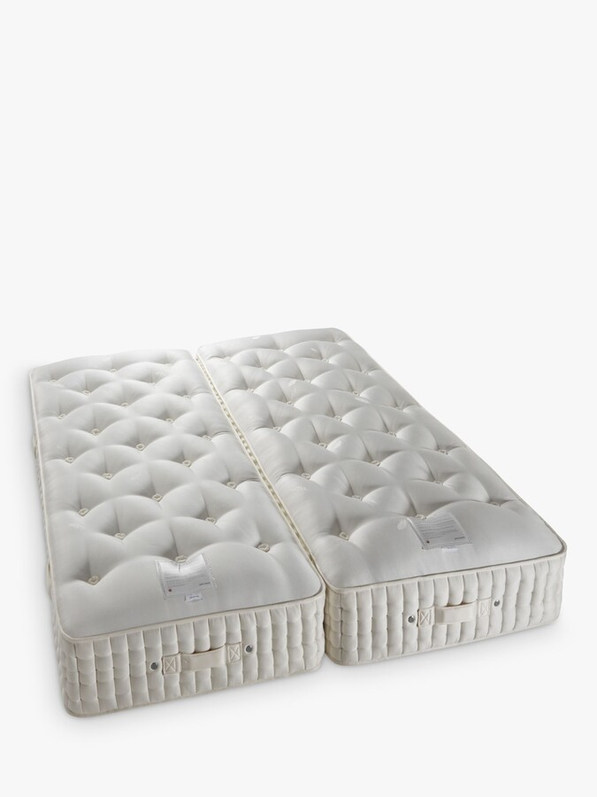 Thumbnail for your product : John Lewis & Partners Natural Collection Cashmere 26400, Super King Size, Firm Tension Pocket Spring Zip Link Mattress