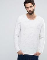 Only & Sons Knitted Jumper In Mixed Slub Yarns