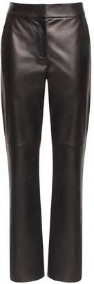 Drome Straight Leg Leather Pants