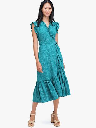 Kate Spade Poolside Dot Wrap Dress