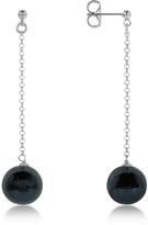 Antica Murrina Veneziana Perleadi Black Murano Glass Bead Earrings
