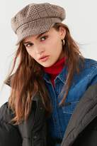 Urban Outfitters Plaid Baker Boy Hat