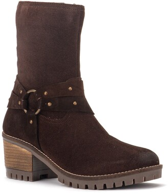 Vintage Foundry Sienna Suede Studded Boot