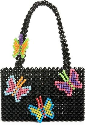 Susan Alexandra Papillon Beaded Bag