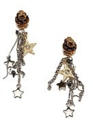 Dolce & Gabbana Pre-owned: Drop Chains Clip-on Earrings.