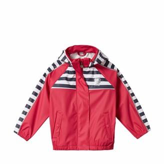 Steiff Baby Girls' Regenjacke Raglan Waterproof Jacket