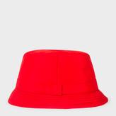 Paul Smith Men's Red Swim Bucket Hat