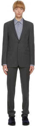 Giorgio Armani Grey Single-Breasted Suit