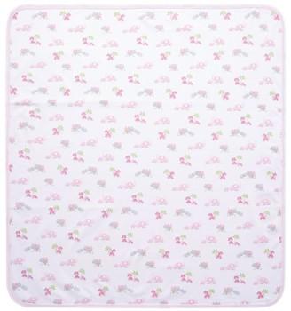 Kissy Kissy Animal Print Blanket