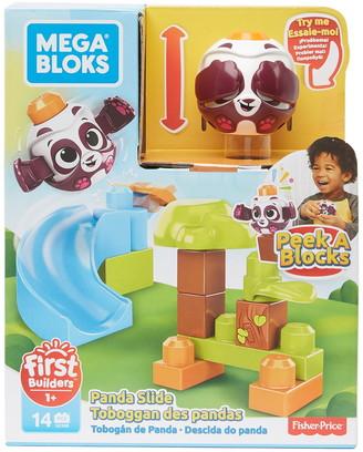 Mattel Peek-A-Blocks Panda Slide
