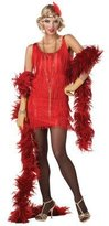 California Costumes Fashion Flapper Halloween Costume - Adult