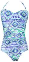 Aqua Blu Paz DD Cup Moulded Bandeau One Piece