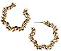 BaubleBar Gianna Beaded Hoop Earrings