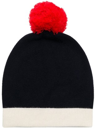 Chinti and Parker Pom Pom Beanie