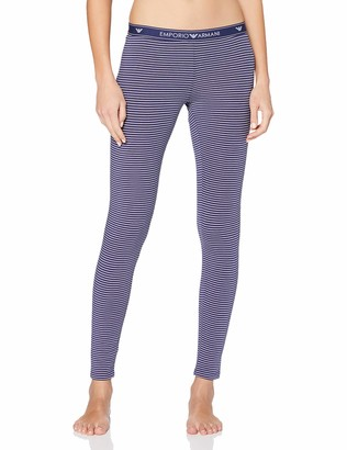 Emporio Armani Women's Visibility - Solid & Stripes Leggings Sports Tights