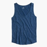 J.Crew Indigo vintage cotton tank top