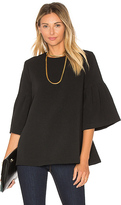 Edit Long Sleeve Flute Sleeve Top