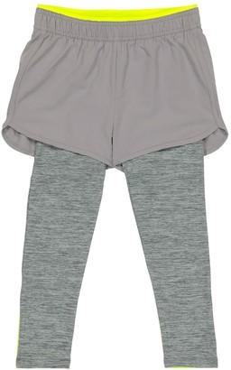 Stella McCartney Kids Sports shorts with leggings