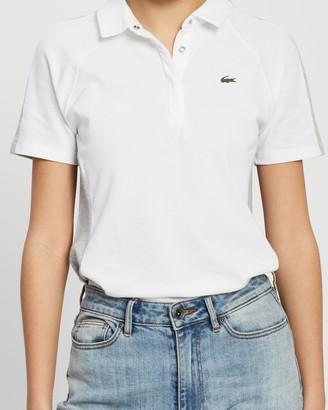 Lacoste Golf Stretch Mini Pique Polo