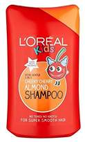 L'Oreal Kids Cheeky Cherry Almond Shampoo 250ml - Pack of 4