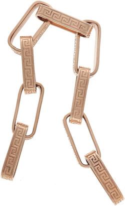 Marla Aaron Rose Gold Greek Key Bracelet