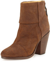 Rag & Bone Classic Newbury Leather Ankle Boot, Brown