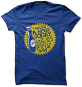 I love Apparel I Saved A Beer Today-T-Shirt//2XL - Funny T-Shirt Made On Demand in USA