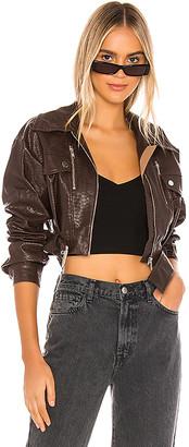 h:ours Oversized Cruze Jacket
