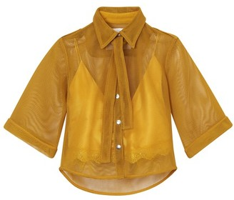 Thebe Magugu Safari shirt and camisole