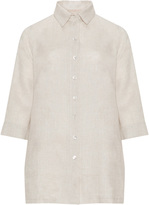 Isolde Roth Plus Size Linen blouse