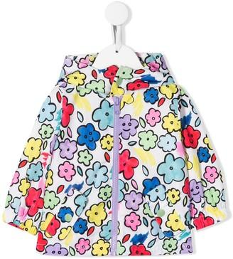 Stella McCartney smiling flower print jacket