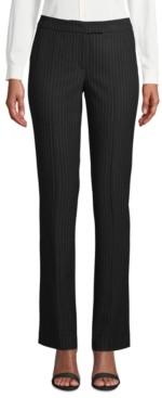Anne Klein Pinstriped Modern Dress Pants