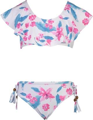 Snapper Rock Flounce Two-Piece Swimsuit